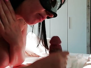 on and Face Teen Handjob cum