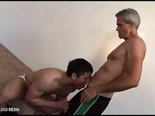 Railed raw by daddy dick...