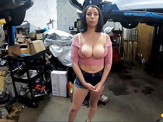 Roadside – Whorish Roadside Help Bangs Busty Latina