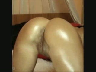 Webcam girl from Sweden with amazing slick ass - with audio