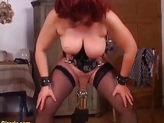 Extreme bizarre german mom...