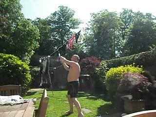 Cuckold washing the panties...