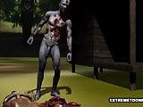 Zombie creep fucking tight teen pussy