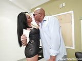Alana Goes For Black Cock