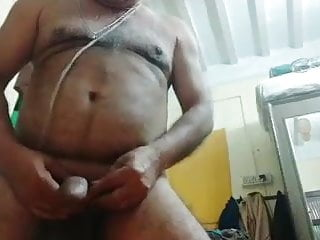 70 years hairy big cock horny daddy...