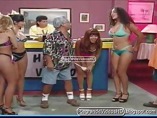 Hot peruvian vedettes women asses in orgy...