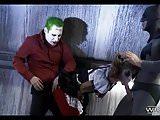 Threesome with Batman and Joker