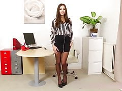 Black stockings secretary!