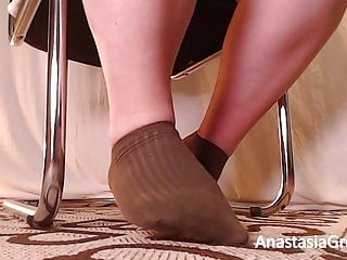 Ignored bbw wide feet