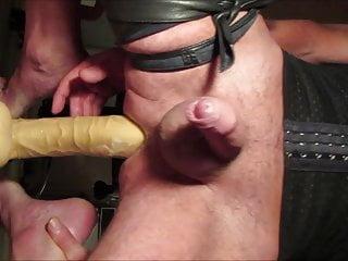 Crossdresser balls deep 13 inch prostate milking...