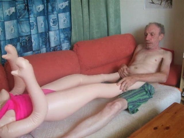 blowjob and footjob on couch