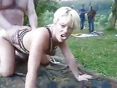 GangBang op het naturisten terein