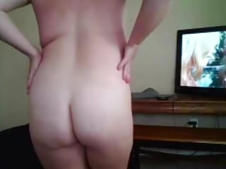 Sweet chubby cheating wife sum with butt pussy...