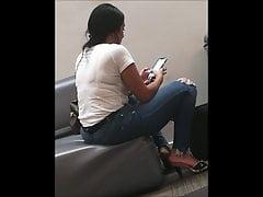 Ass Season #125 - Big ass busty girl in jeans
