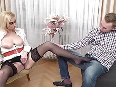 milf gets cuni and fuck from bad boyfree full porn