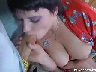Stepmother has sex