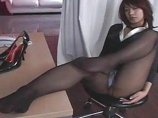 Hot japanese pantyhose...