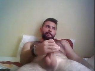 Sexy beefy turkish wank...