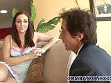 Amazing teen Gracie Glam lets her stepdad fuck her
