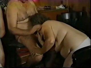 Old swinger orgy some bisex...