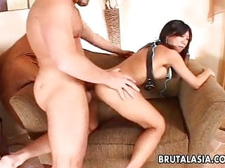 Busty enjoys rough anal sex...