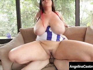 Latina angelina castro face fucked amp cummed on...