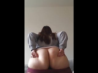 PAWG TEASING ON COUCH