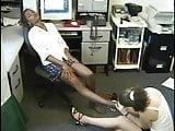 Interracial Pantyhose Foot Worship
