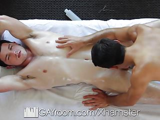 GayRoom - Massage Turns Anal with Blake Stone & Robbie River