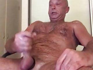 Wank cum lover shoulder HOT guy