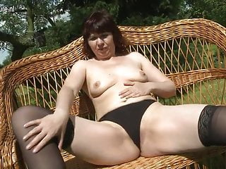 Real aunty outdoor...