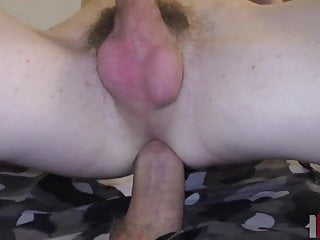 gets his hole bred by thick cock...