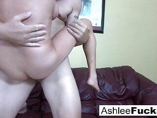 Ashlee orders some man meat after she dumps her boyfriend