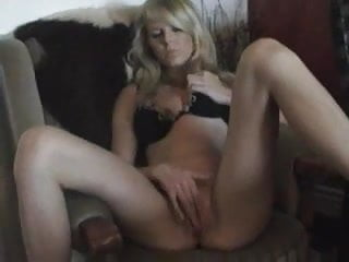 Young Germand Blone Babe Masturbate at home