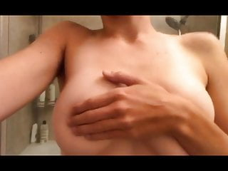 The Swinger Experience Presents College girl bathroom naked handbra