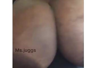 Extreme black juggs...