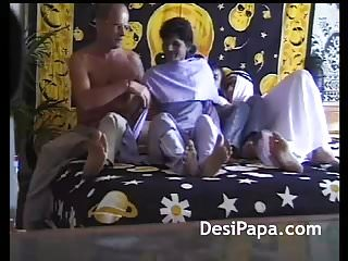 Arab sheikh fucking young indian girl in group...