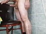 Turkish Daddy bear chair humping cumshot