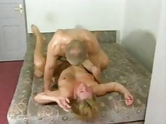 Thick German granny can't get enough of young cock