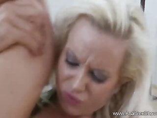 European milf tries sex...