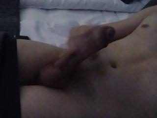Strocking my big cock