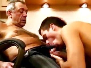His mature boss...