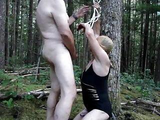 In bondage...