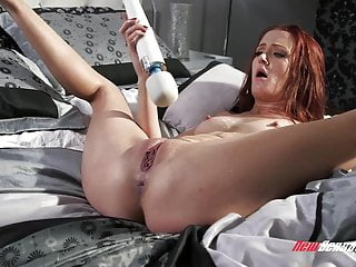 Andi rye squirting on cock...