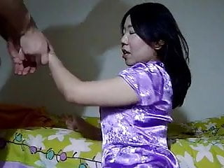Asian hot mature fucked by her white lover...