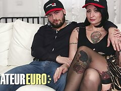 CASTING ALLA ITALIANA - Lady Muffin Tries Anal With Husband