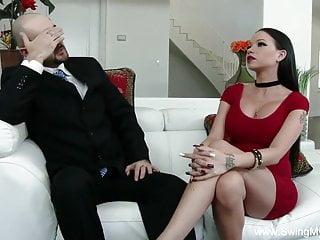Tattoo Slut Swinger Wife Fucks A New Man
