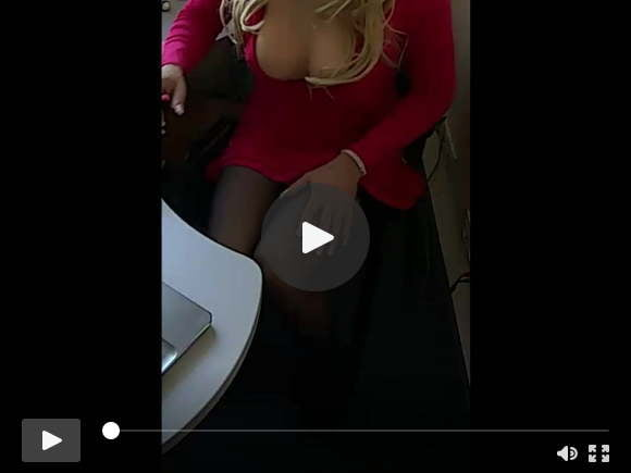 hot blondee in red dress at work other focus..)sexfilms of videos