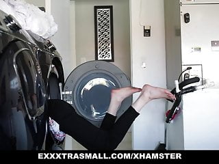 ExxxtraSmall - Tiny Teen Climbs A Tall Man's Big Cock