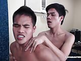 Asian Boys Simon and Jacob Barebacking